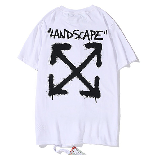 @W F land scape 2Color Tee (675)