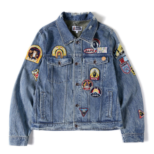 BP Patch Denim Jacket (939)