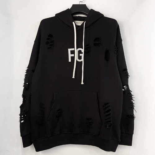 FOG Hole Distressed FG Reflective Hood (936)