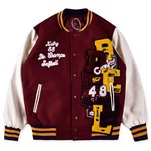 Chaos Lettered Stadium 2Color Jacket (506)