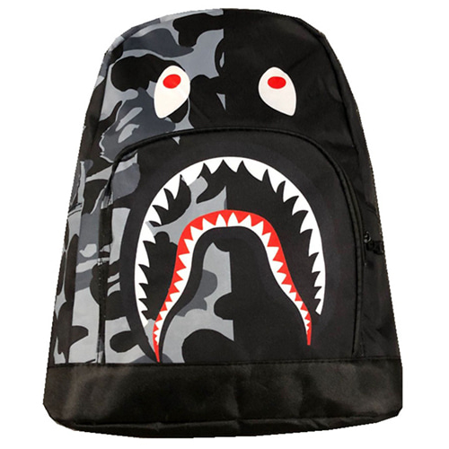 Shark face 2Color Backpack (610)