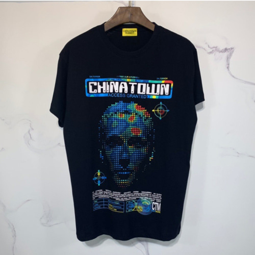 Chinatown 2Color Three-dimensional Printing TEE (848)
