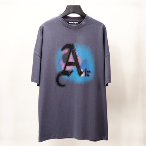 PALM 2Color Spray Letter A Printing TEE (851)