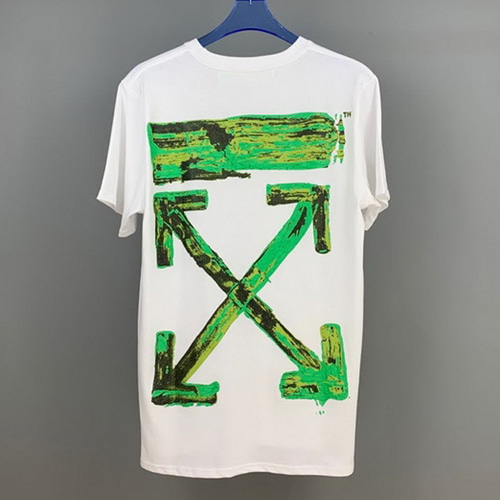 @W 2Color Green Arrow Printing TEE (836)
