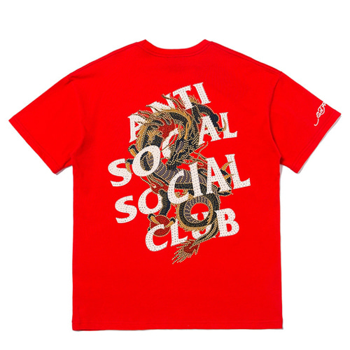 ASSC 3Color Dragon Logo Printing TEE (812)