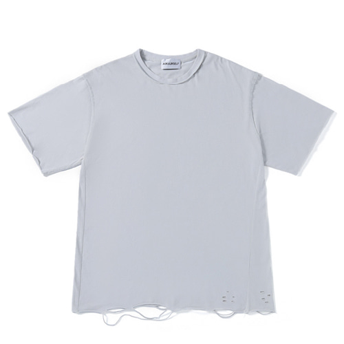 Askyurself Hole Washed TEE (814)