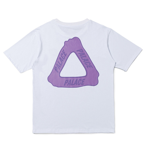 PLC 2Color 3D Triangle Printing TEE (815)