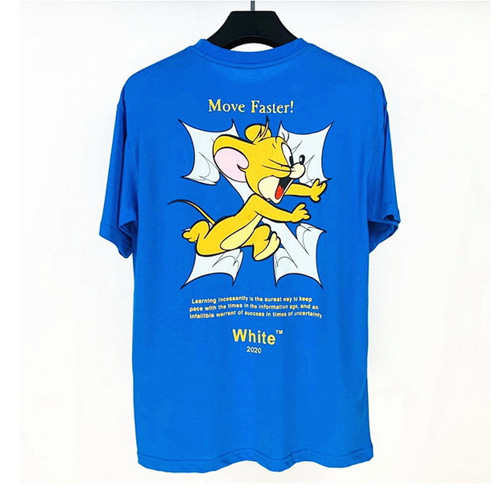 @W 3Color Tom & Jerry Printing TEE (837)