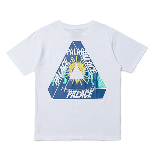 PLC 2Color Lightning Triangle Logo TEE (817)