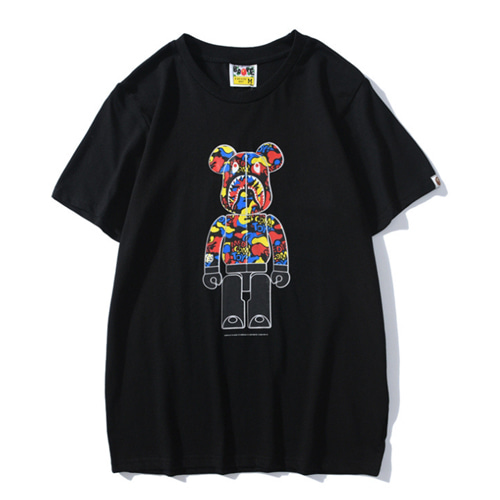 BP 2Color Bear Printing TEE (810)