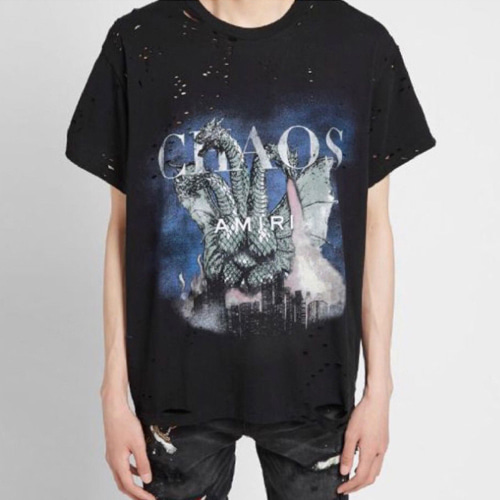 AMR 2Color Dragon Printing TEE (841)