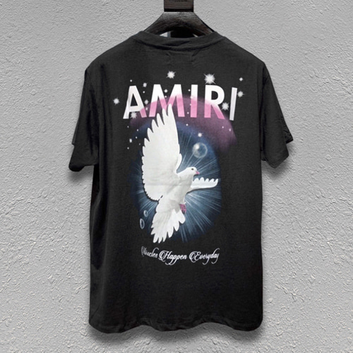AMR 2Color Peace Dove Printing TEE (842)