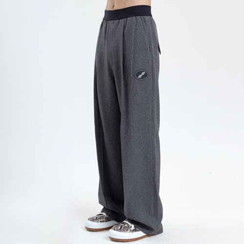 WE11 2Color Straight Pants (909)