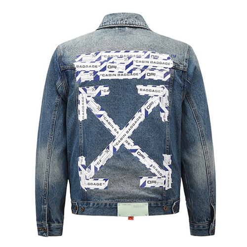@W  Ttape Cordon Arrow Denim Jacket (914)