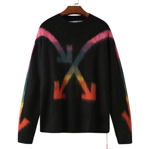 @W Color Arrow Mohair Sweater (971)