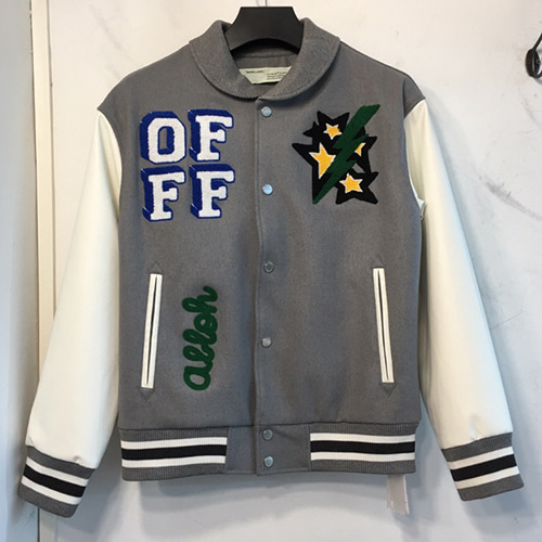 @W Woolen Baseball Jacket (1240)