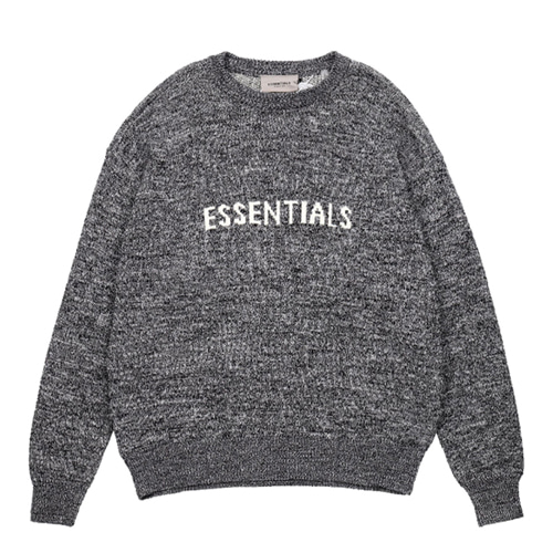 FOG Essentials 3Color Logo Letter Printing Sweater  (1200)