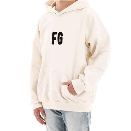 FOG 4Color FG Letter Embroidered Hood (1252)