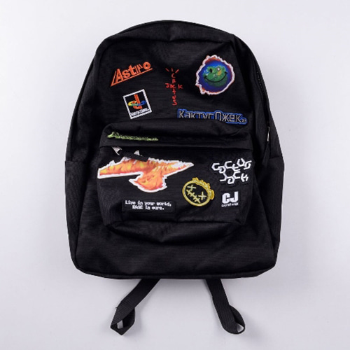 Fortnite 2Color Patch Printing Backpack (1250)