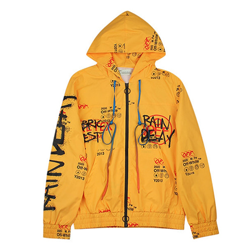 @W Graffiti Mesh Jacket (1245)
