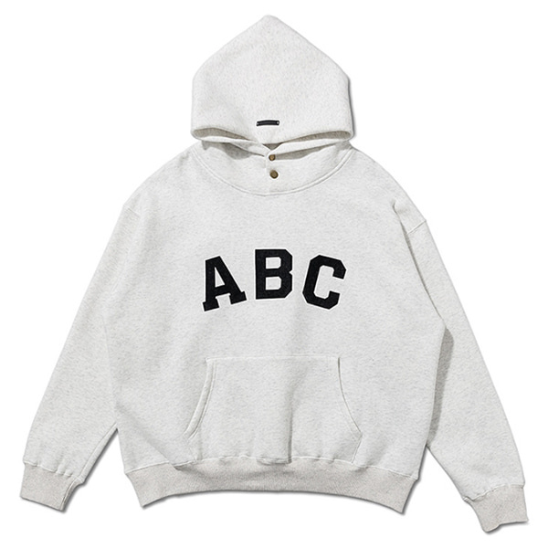 FOG 2Color Letter Printing Plus Fleece Hood (1254)
