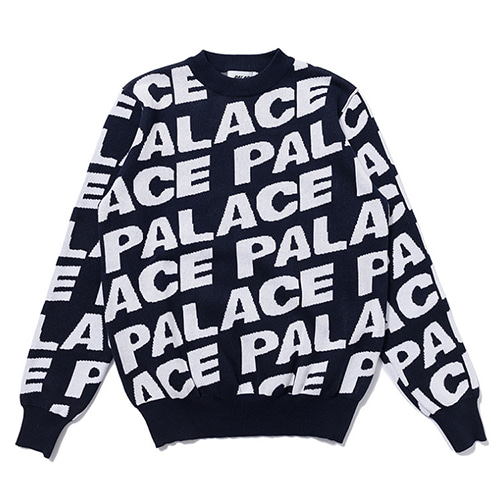 PLC Bullet Screen Letter 2Color Printing Sweater (1274)