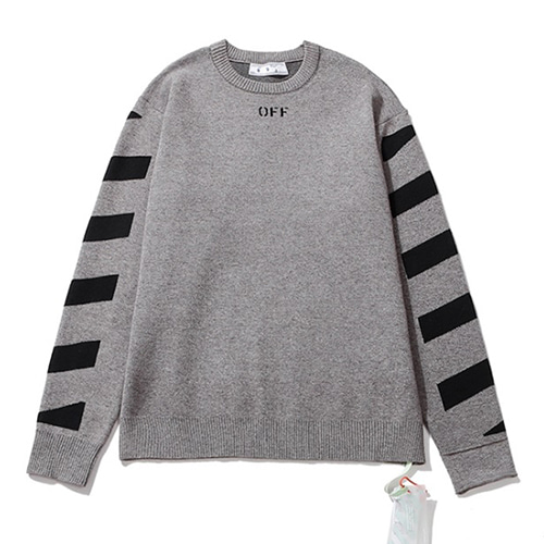 @W 3Color Arrow Stripe Sweater (1283)