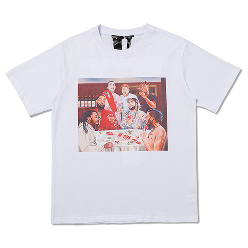 VLONE Portrait 2Color Printing TEE (1316)