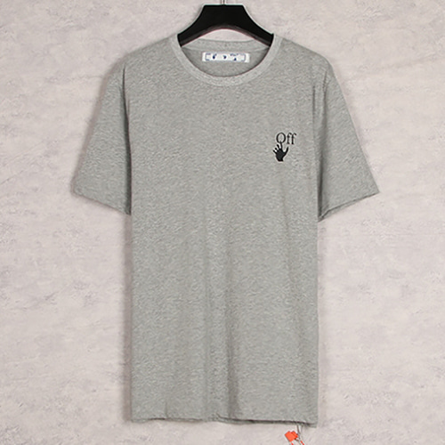 @W 3Color Oil Painting Arrow TEE (1299)