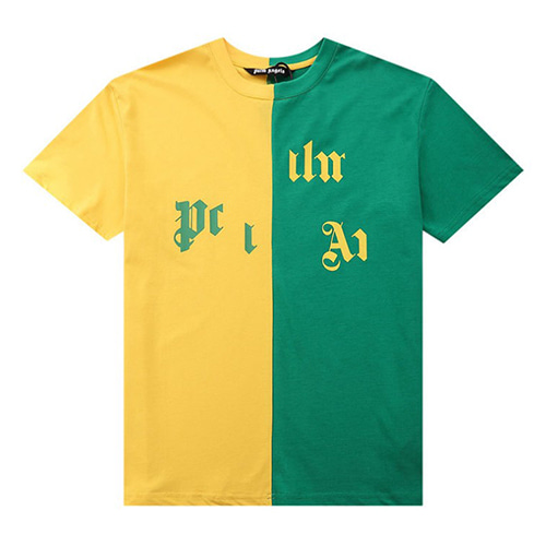 PALM 2Color Stitching TEE (1314)