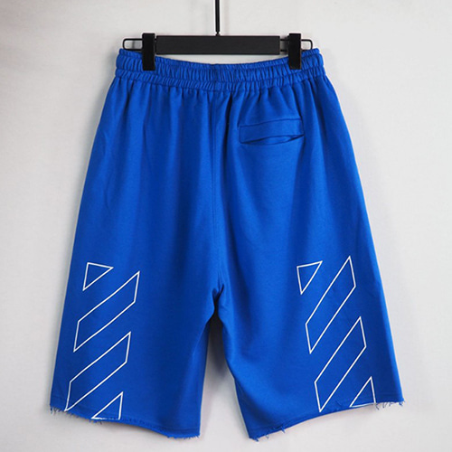 @W 3Color Logo Letter Printing 1/2 Pants (1344)